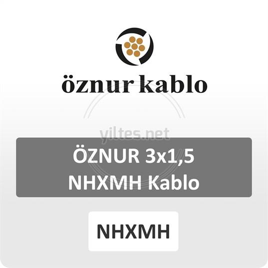 ÖZNUR 3x1,5 NHXMH Kablo