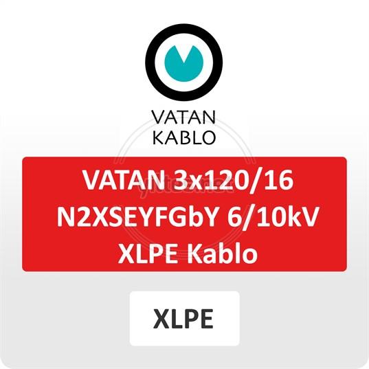 VATAN 3x120/16 N2XSEYFGbY  6/10kV XLPE Kablo