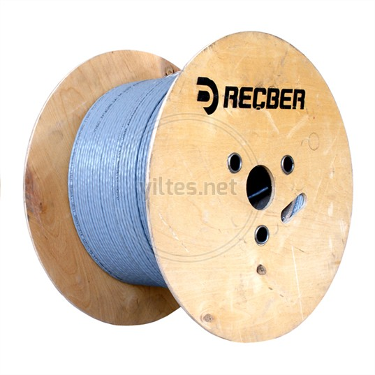 REÇBER Cat5 Kablo - SL200 U24 Category 5e U/UTP 4x2x24AWG - 500 Metre