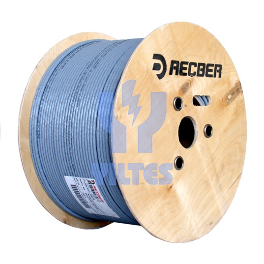 REÇBER Cat6 Kablo - SL400 U23 Category 6 U/UTP 4x2x23AWG - 500 Metre