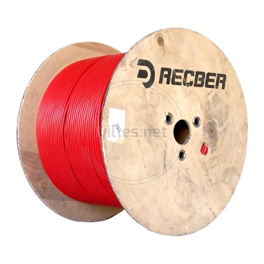 REÇBER J-Y(St)Y...Lg 1x2x0,80mm+0,40mm PVC Yangın Alarm Kablosu - 500 Metre